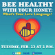 Bee Healthy Love Languages
