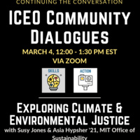 ICEO Community Dialogues, Environmental Justice