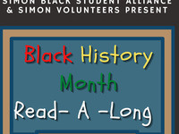 Simon Volunteers: BHM Read-A-Long Program