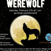 Werewolf - Virtual Game Night | Lehigh After Dark