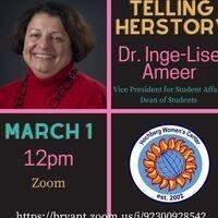Telling HerStory: Dr. Inge-Lise Ameer