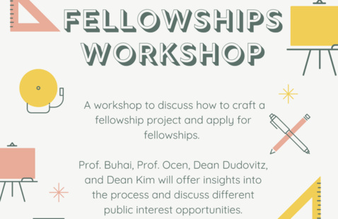 Fellowships Workshop | PILF & Public Interest Law Department