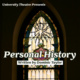 Personal History stained glass window