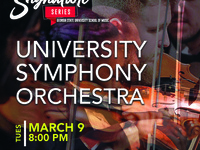 Signature Series Event: University Symphony Orchestra