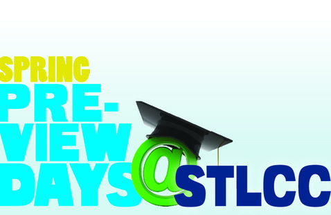 flyer image for Preview days at STLCC