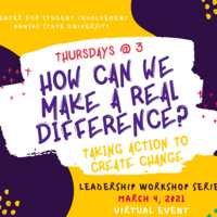 How Can We Make a Real Difference? Taking Action to Make Change