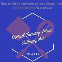 Virtual Tuesday Trivia: Culinary Arts Trivia