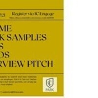 Park School Review Sessions Offered: Resume, Work Samples, Reels or Interview Pitch