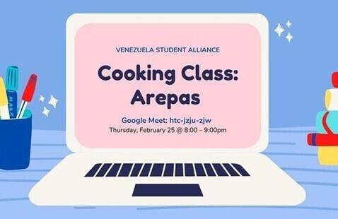 Cooking Class: Arepas!