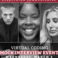 Virtual Coding Mock Interview Event