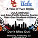 A Tale of Two Cities: UCLA & USC Black & APIDA First-Gen Student-Athletes