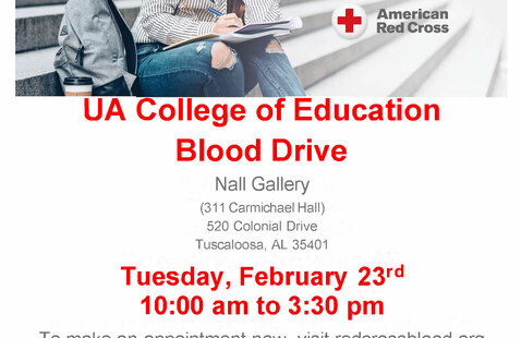 College of Education- Red Cross Blood Drive