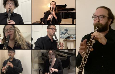 Online Ensemble Concert musicians