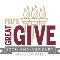 FSU's Great Give 10th anniversary logo