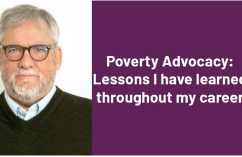 Public Service Perspectives | Poverty Advocacy: Lessons I have learned throughout my career