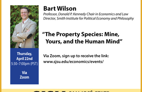 4/22 Provocative Lecture - Bart Wilson