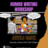Gray Fund Presents: Humor Writing Workshop with Jewels Smith