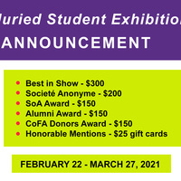 2021 Annual Juried Student Exhibition Award Announcement with Winnie Sidharta