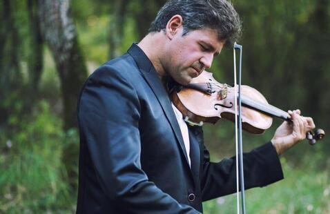 Master Class with Violinist Simos Papanas