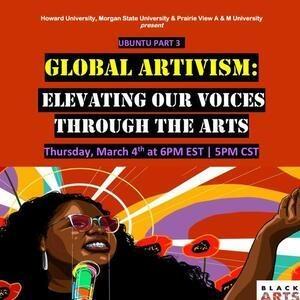 Global Artivism Flyer