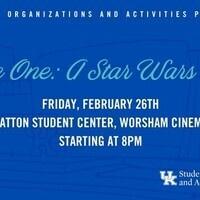 SOA's Cinema Series: Rogue One : A Star Wars Story