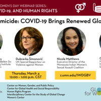 Stopping Femicide: COVID-19 Brings Renewed Global Urgency