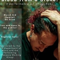 UCR Music Wednesday@Noon performance by Figgy Baby, queer rapper, dancer, and community builder