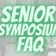 Senior Symposium Q&A