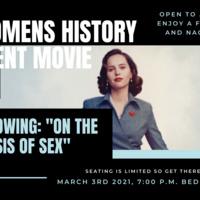 Women's History Month Movie In Bede Ballroom