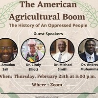MANRRS presents The American Agricultural Boom: The History of an Oppressed People