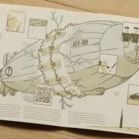Todd Thyberg of Angel Bomb Press: Designer, Letterpress Printer, & Graphic Novelist