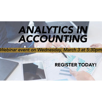 What's this new Buzz? Analytics in Accounting