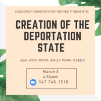 Creation of the Deportation State