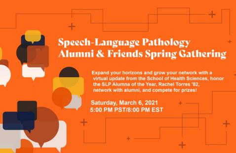 Speech-Language Pathology Alumni and Friends Spring Gathering