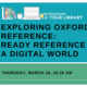 Workshops @ Your Library: Exploring Oxford Reference