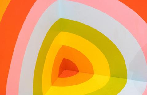 Multicolored target