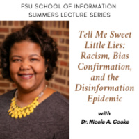Summers Lecture Series: Guest Lecturer Dr. Nicole A. Cooke