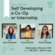 WeLearn Table Talk: Self Developing a Co-Op or Internship