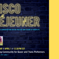 Disco Déjeuner: Building Community for Queer and Trans Performers feat. Dr. Lady J