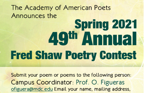 Fred Shaw Poetry Contest, Prof. O. Figueras, Padron Campus Coordinator