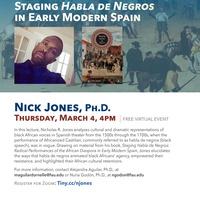 Staging Habla De Negros in Early Modern Spain
