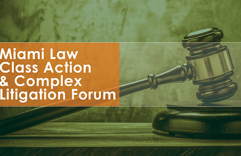 Interact & Learn w/Top Judges: Class Action Forum