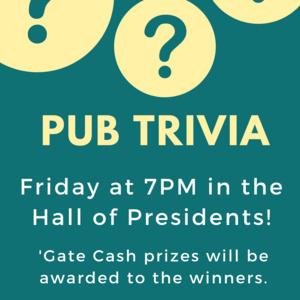 Pub Trivia: Hall of Presidents Edition