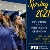 Spring 2021 Virtual Induction to the Profession Ceremony