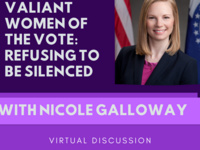 "WHM ""Valiant Women Of The Vote"" feat Nicole Galloway"