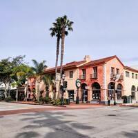 State Street and Haley Street Intersection, Santa Barbra, CA