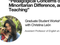 """""""Pedagogical Concerns of Curiosity, Minoritarian Difference, and Ethics in Teaching"""""""