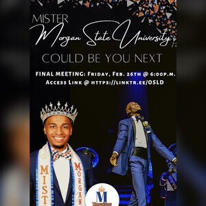 Become the Next Mister Morgan State University