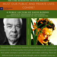 Flyer for Distinguished Lecture Event