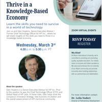 Thrive in a Knowledge-Based Economy